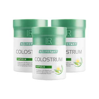 LR LIFETAKT Colostrum Kapsle Série 3 ks