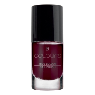 Lak na nehty True Colour (odstín Black Cherry)